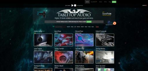 Tabletop Audio