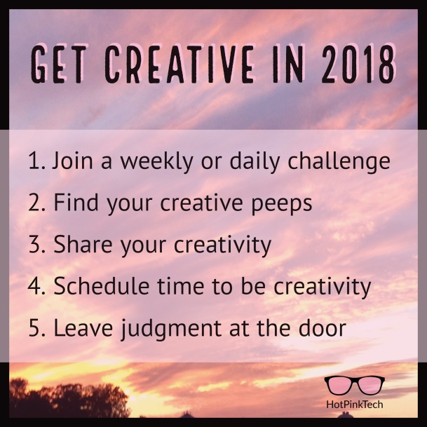 Tips for a creative 2018
