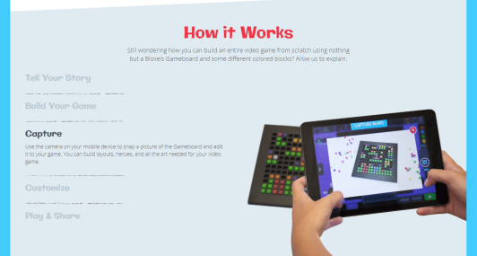 Bloxels - How it works.