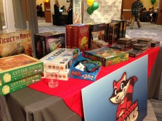 Sample of games from Red Raccoon Games.