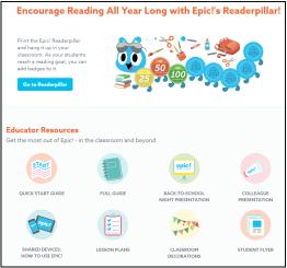 Epic! Resources for educators.