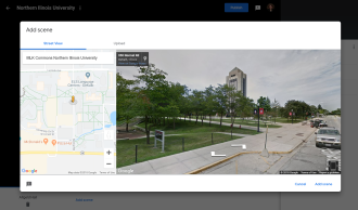 Search Google Maps for street views.