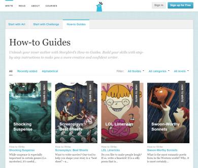 Storybird Guides