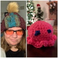 Hat and octopus